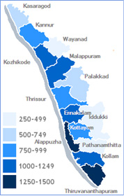 map-kerala
